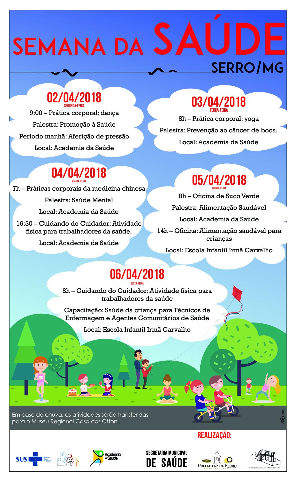 Cartaz Semana da Saúde V2 - Reduzido