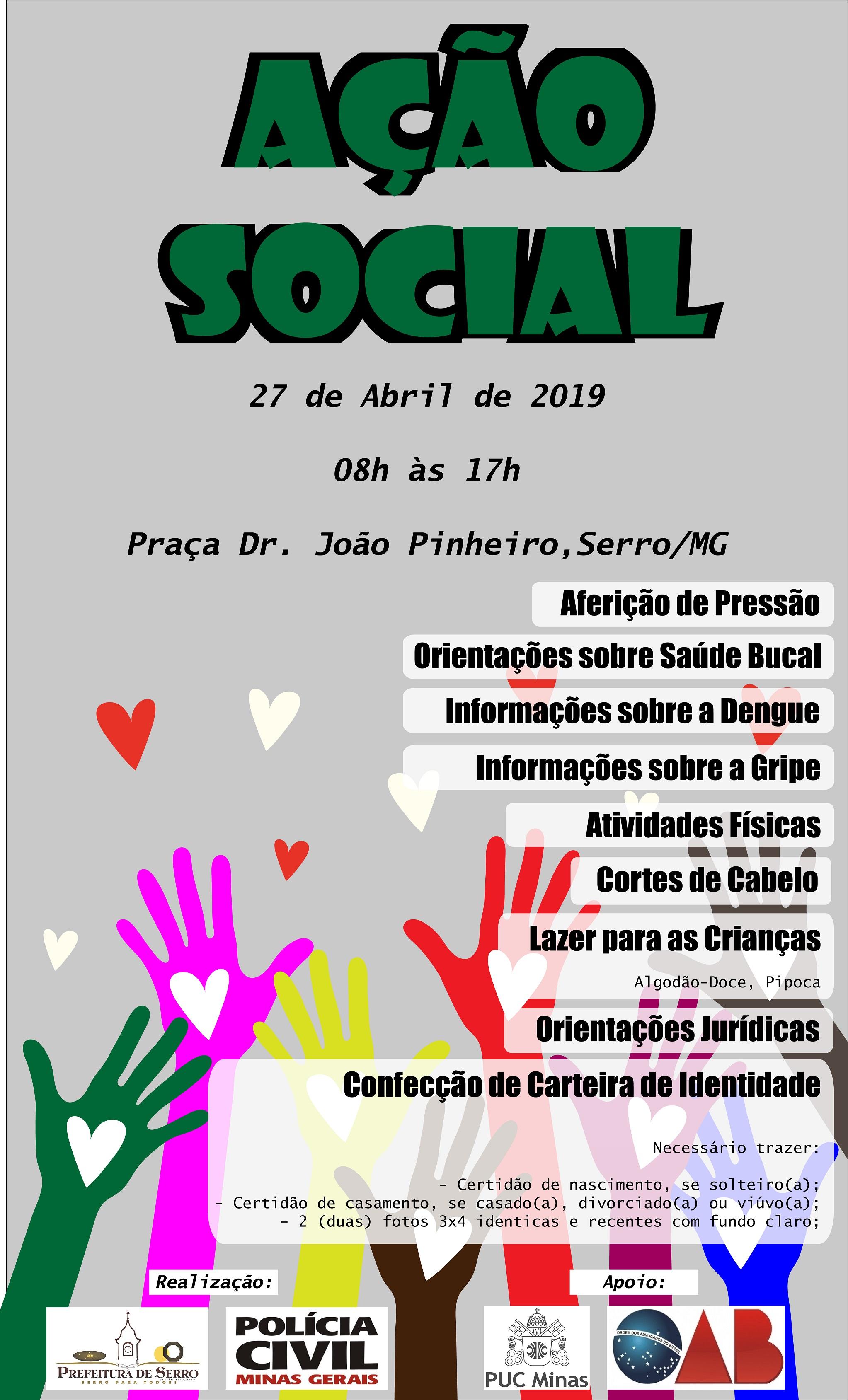 Ação Social red